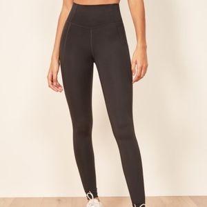 Hi Rise Full Length Pant Legging - Black